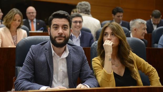 César Zafra, diputado de Ciudadanos que ha planteado la pregunta sobre el Canal de Isabel II