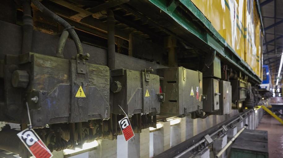 Metro ha retirado 43 trenes desde 2017 por contener piezas de amianto