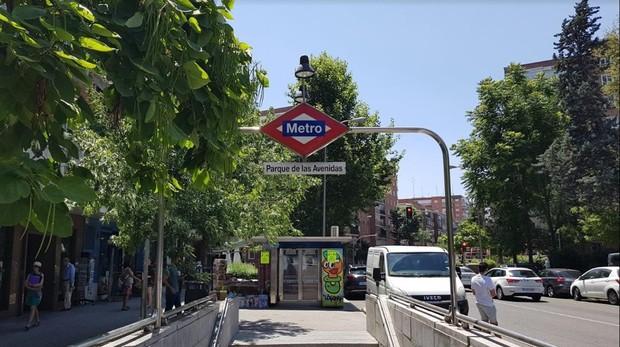 Estación de Metro de Parque de las Avenidas