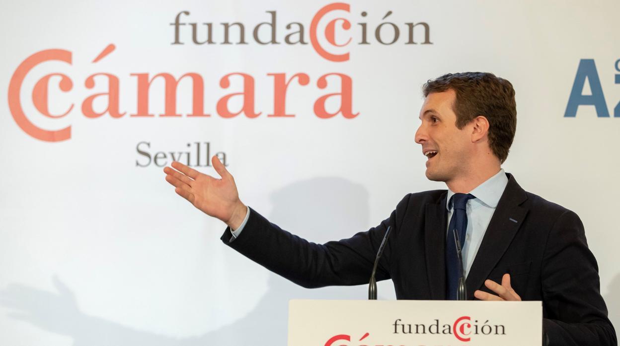 Casado: «O la Comisión Europea tumba estos Presupuestos o estos Presupuestos tumban a España»