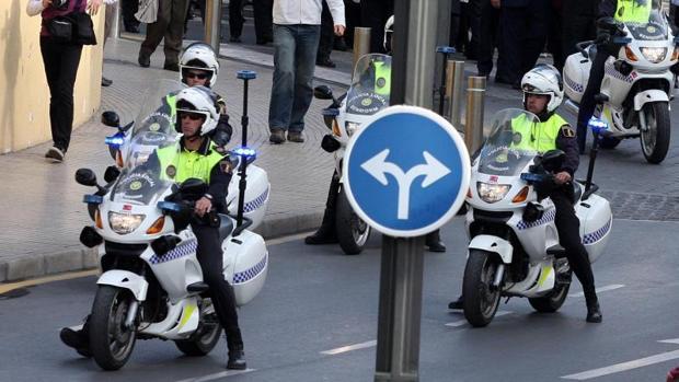 Efectivos de la Policía Local de Benidorm