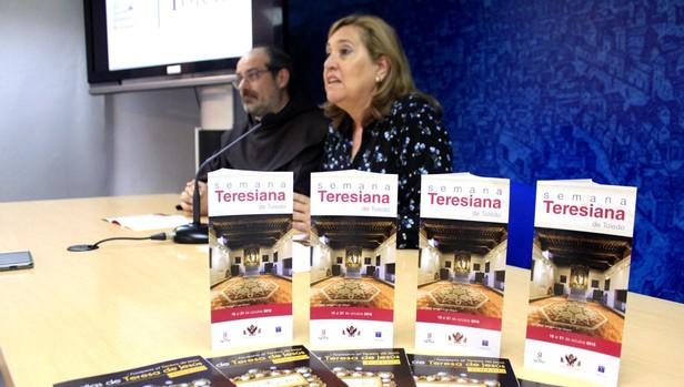 Presentación de la Semana Teresiana en el Ayuntamiento de Toledo