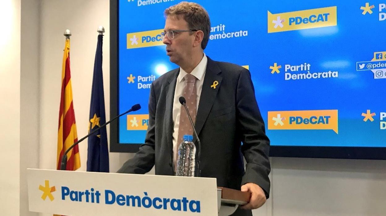 El PDECat «no ve posible» apoyar los presupuestos de Sánchez