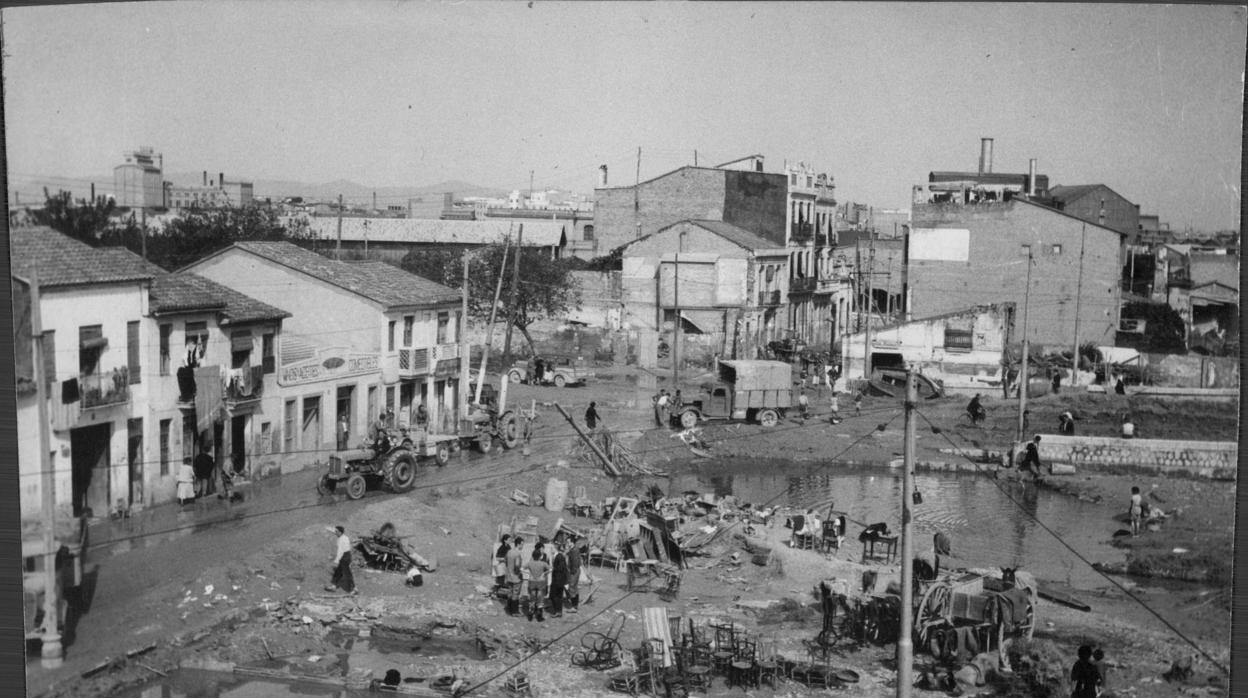 La riada del 14 de octubre de 1957 que asoló Valencia: una catástrofe que hoy no podría volver a repetirse