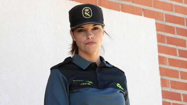 Raquel Ciudad González, agente en Valmojado (Toledo)