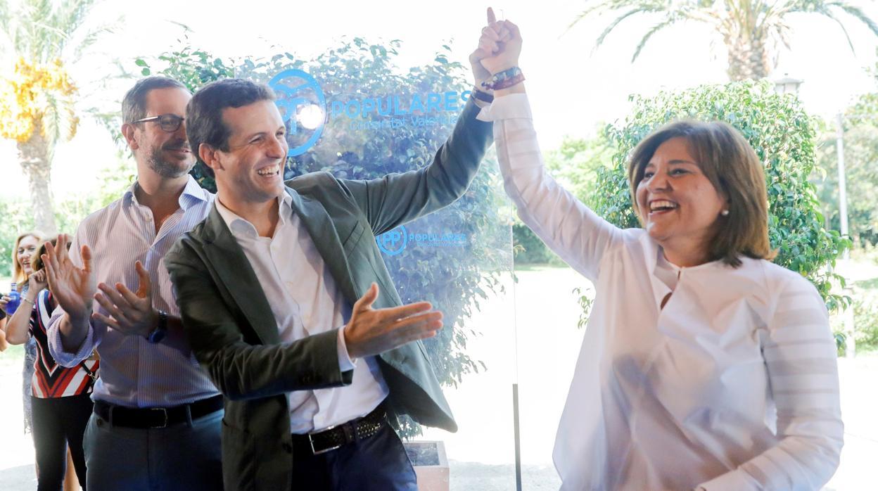 Bonig mantiene una reunión en Madrid en plena cuenta atrás para conocer el candidato de Valencia