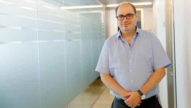 Alejandro Pérez-Fidalgo, en el Hospital Clínico de Valencia