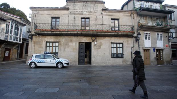 Casa consistorial de Allariz (Orense)