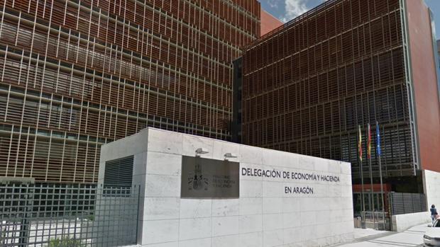 Sede de la delegación regional de la Agencia Tributaria