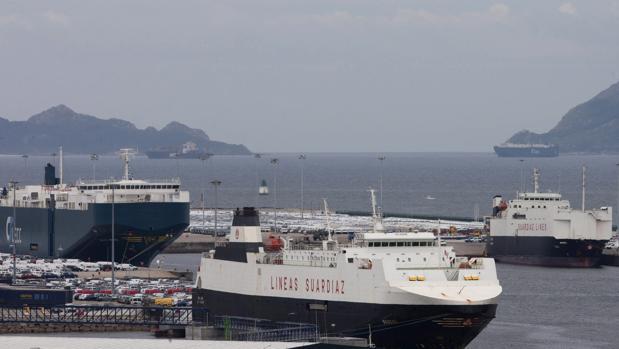 Vista general del Puerto de Vigo