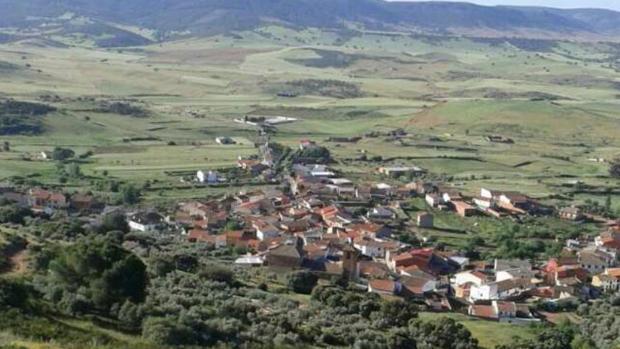 Vista panorámica del municipio de Fontanarejo (Ciudad Real)