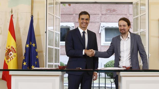 Iglesias alimenta su perfil antimonárquico como elemento diferenciador de su socio Sánchez