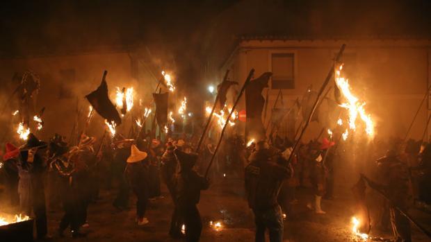 Celebración de El Vítor en Mayorga de Campos