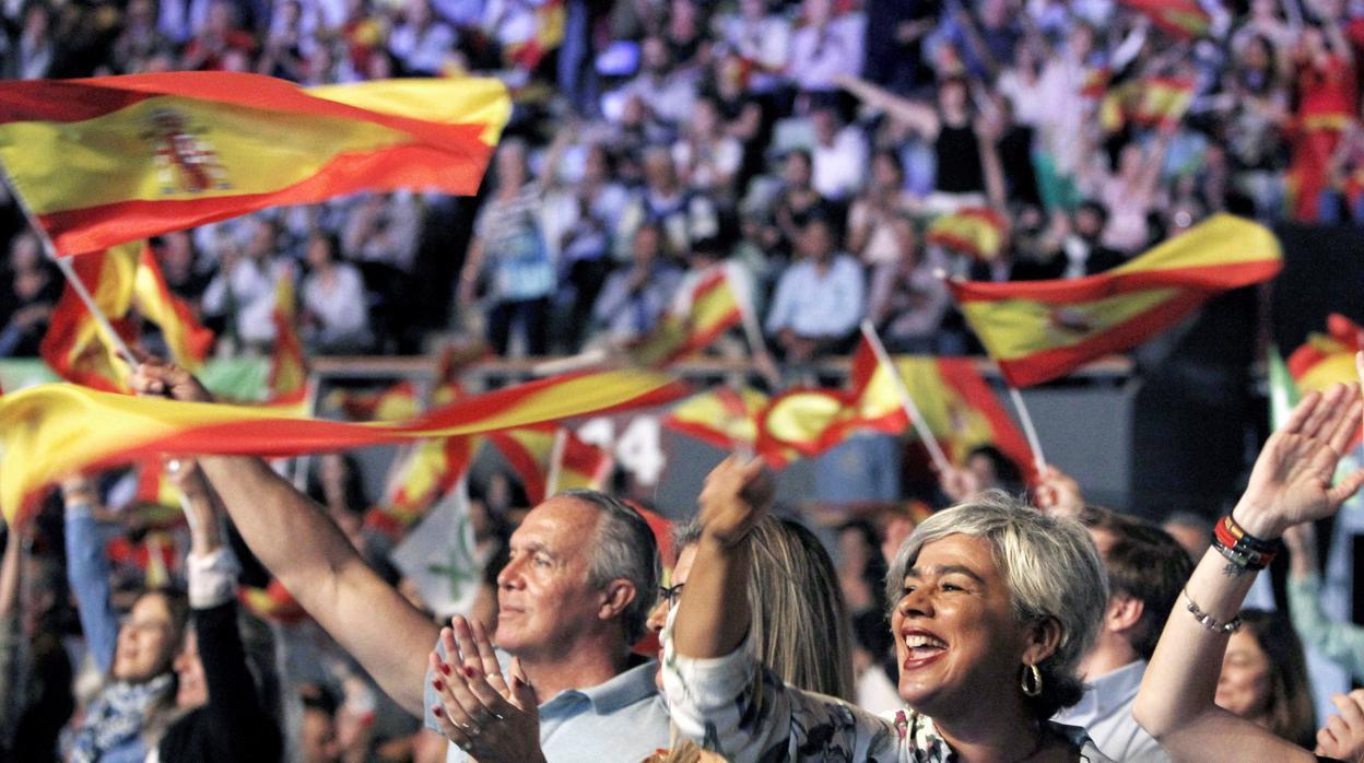 «De Vistalegre a Valencia»: Vox marcará sus objetivos electorales con otro acto «multitudinario»