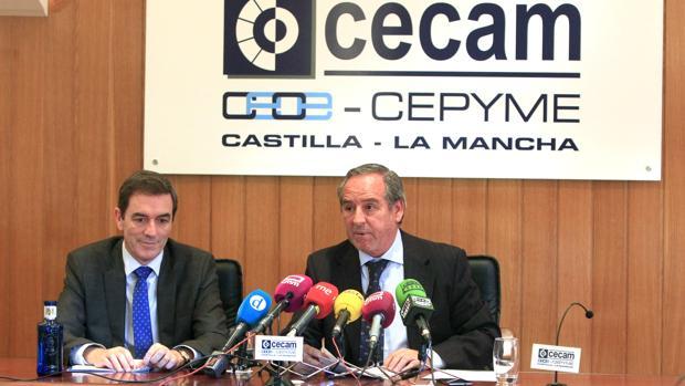 Roberto Arcos, José Macías, Abraham Sarrión y Jesús Esteban, premios Cecam 2018