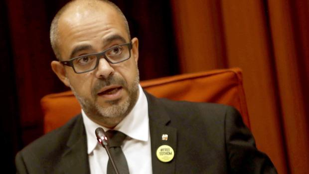 El consejero de Interior de la Generalitat, Miquel Buch, ha comparecido este miércoles en el Parlament