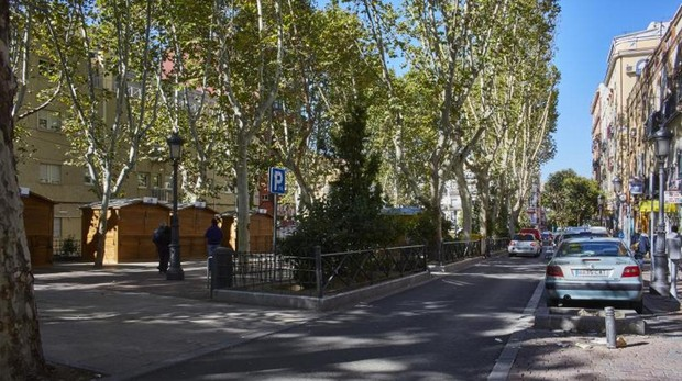 El Bulevar de Vallecas será peatonal en ocho meses