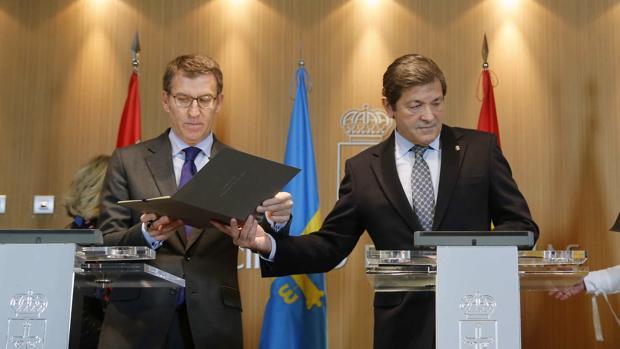 Feijóo y Fernández, en una imagen de archivo