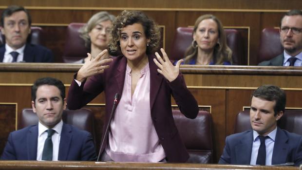 Dolors Montserrat, portavoz parlamentaria del PP