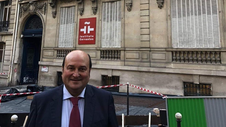 El PNV exige al Estado la propiedad del palacete parisino que alberga la sede del instituto Cervantes