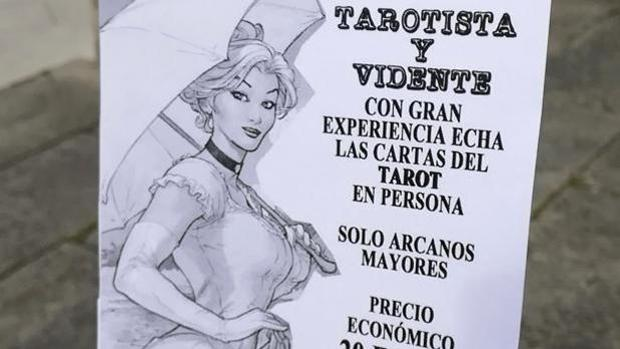 Una de las octavillas que repartía la juez de Vigilancia Penitenciaria en la ciudad de Lugo