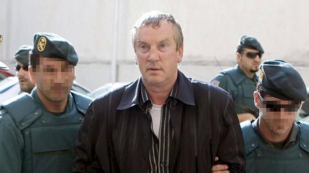 El supuesto líder de la mafia rusa Gennadios Petrov, ahora fugado, cuando fue arrestado en Mallorca
