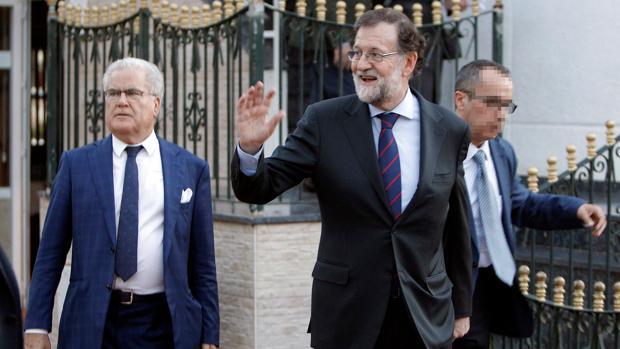 Imagen de Rajoy tomada este jueves en Santa Pola