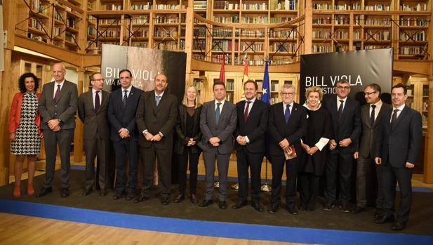 Emiliano García-Page, este jueves en Cuenca durante la inauguración de la exposición «Vía Mística»