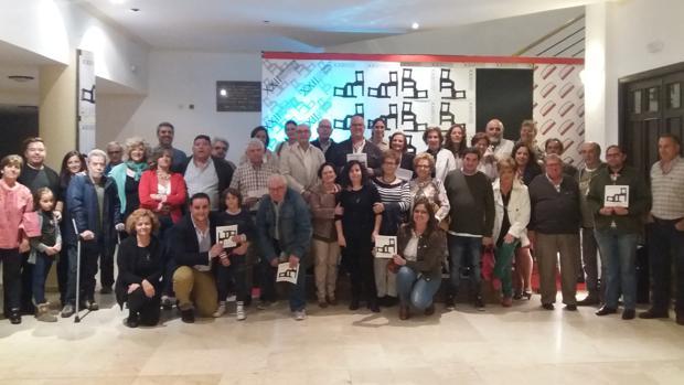 Participantes en la presentación del XXII Certamen Nacional de Teatro Aficionado «Villa de Mora»