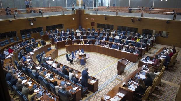 El pleno de la Asamblea, en una imagen de archivo