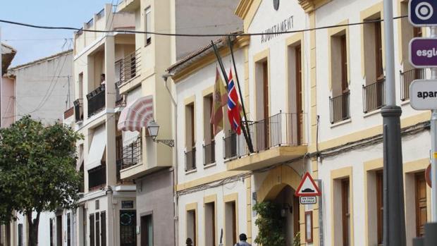 Fachada del Ayuntamiento de Alfaz del Pi