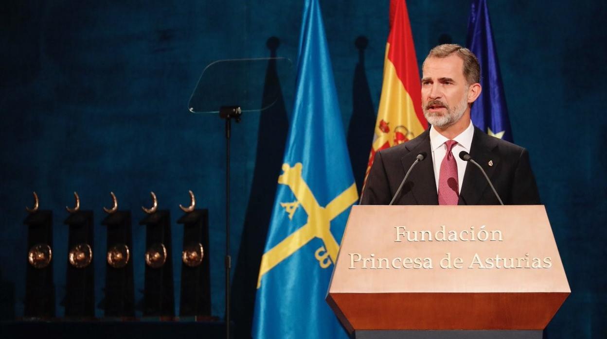 La emoción del Rey al recordar su visita con sus hijas a covadonga: «Gracias, Asturias»