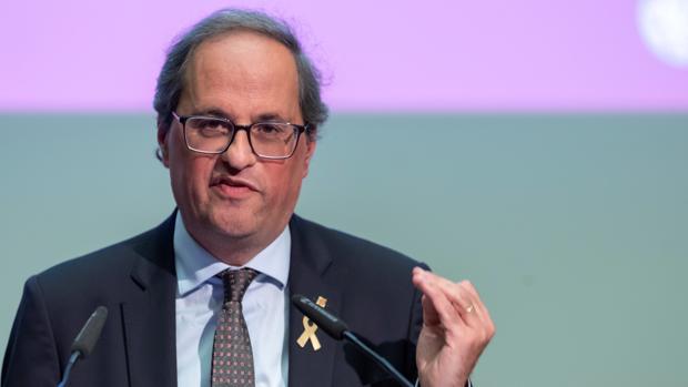 El independentista Quim Torra, presidente de la Generlaitat