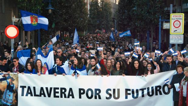 Cerca de 40.000 personas participaron en la manifestación de noviembre de 2017