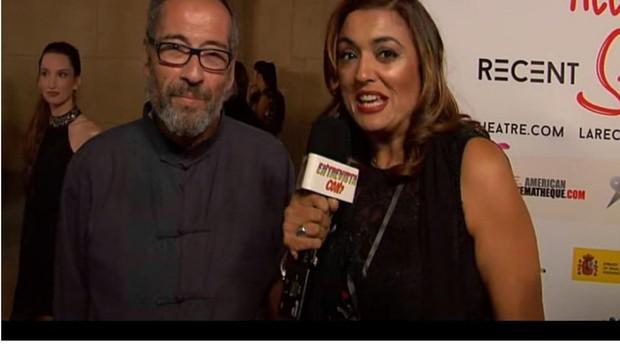 Javier Rodríguez, consejero de Turismo de España en Los Ángeles, y Carmen Díaz