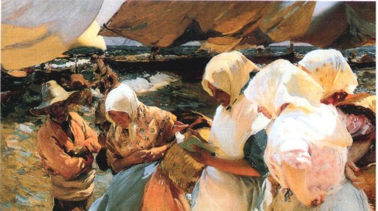 Sorolla, Segrelles i el deixeble de Goya Agustín Esteve arriben a Ontinyent