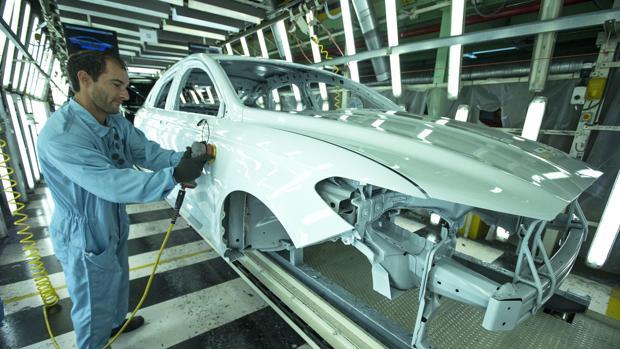 Imagen de archivo de la planta de Ford en Almussafes