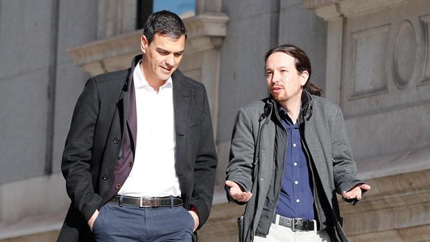 El pacto con Iglesias acerca al PSOE a los tripartitos con ERC en Madrid y Cataluña