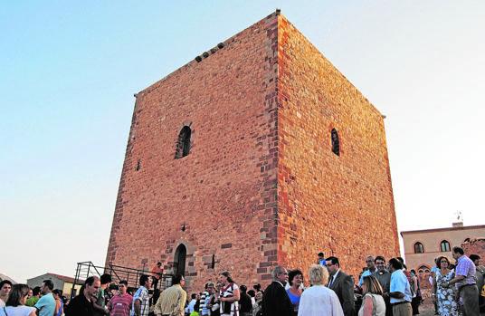 La torre del castillo ofrece una de las mejores vistas de la localidad