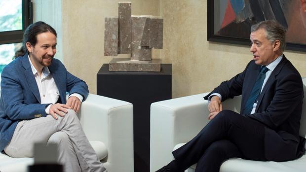 Iglesias promete que con Sánchez España será plurinacional