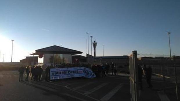 Funcionarios de prisiones, en huelga en Madrid
