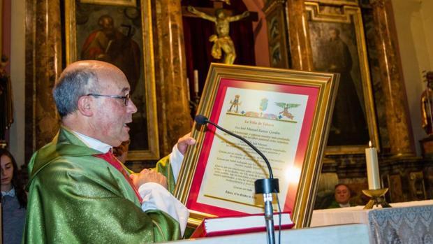 El sacerdote José Manuel Ramos Gordón, acusado de abuso de menores