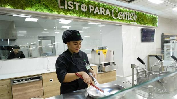 Imagen de la nueva sección de comida para llevar recién hecha de Mercadona