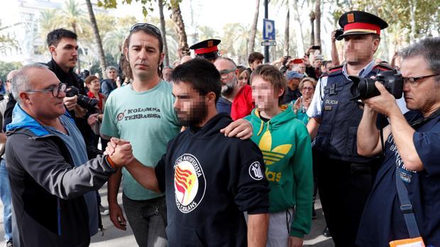 Los tres miembros de los CDR han sido detenidos ante el TSJC este viernes