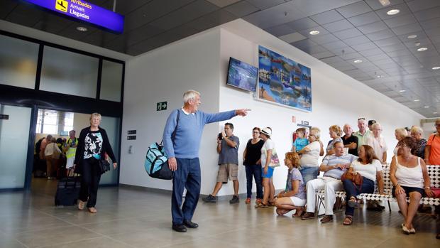 Imagen de archivo de las instalaciones del aeropuerto de Castellón