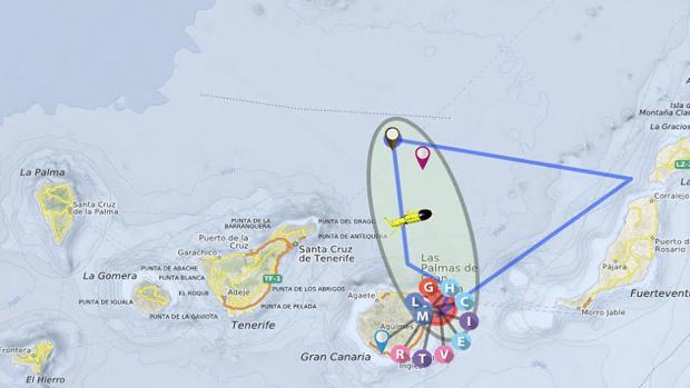 Bases marinas de control del agua que tiene desplegadas Plocan