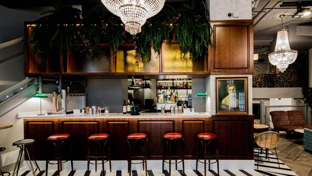 Café Madrid en Marques House
