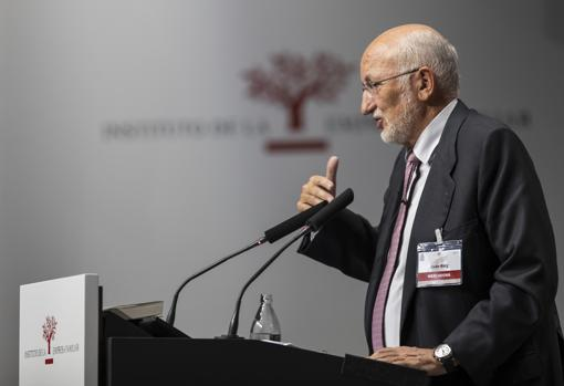 Imagen de Juan Roig tomada durante su intervención