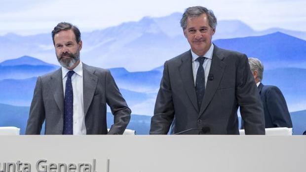 José Manuel Entrecanales (derecha) y Juan Ignacio Entrecanales