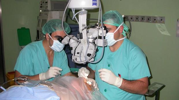 Una intervención oftalmológica